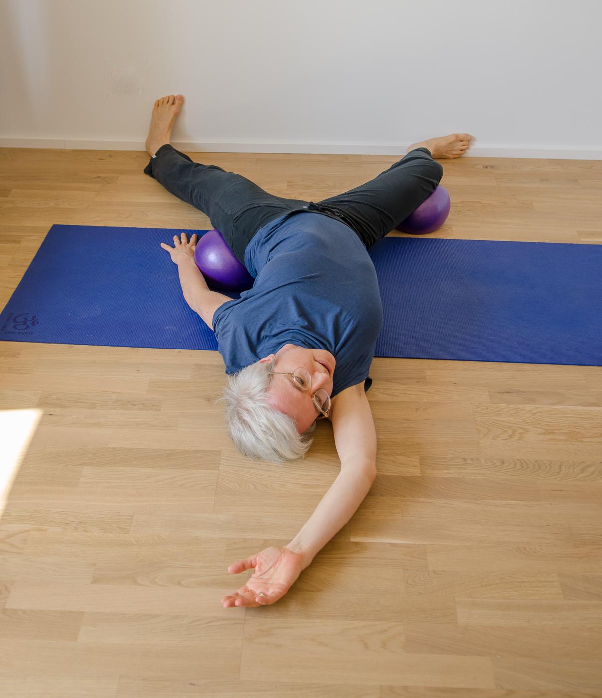 Botschafterin für barrierefreies Yoga