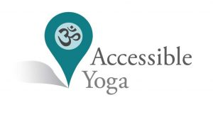 Logo Accessible Yoga, Barrierefreies Yoga